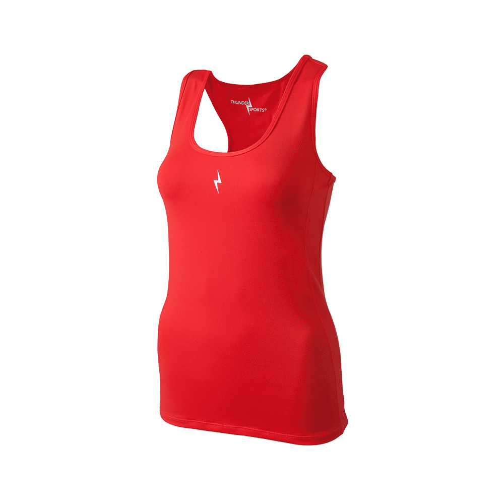 Compression tee red